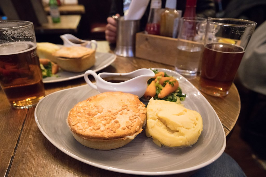 Pie at the Cambridge