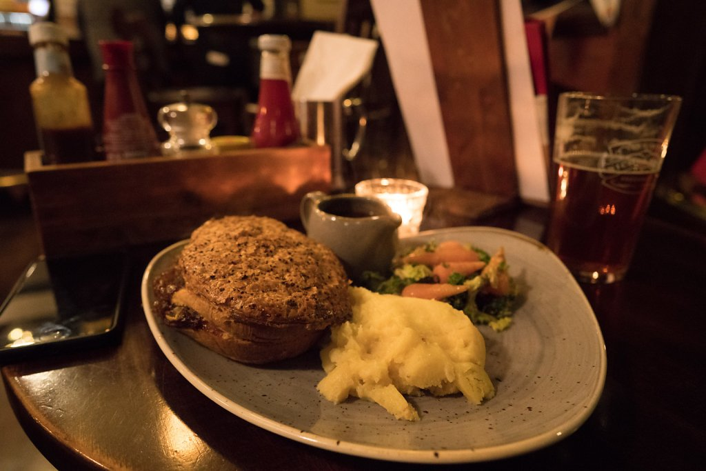 Steak pie at Williamson's Tavern
