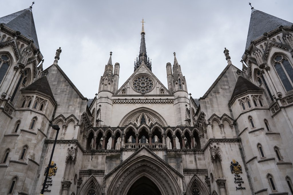 Royal Courts of Justice - 王立裁判所