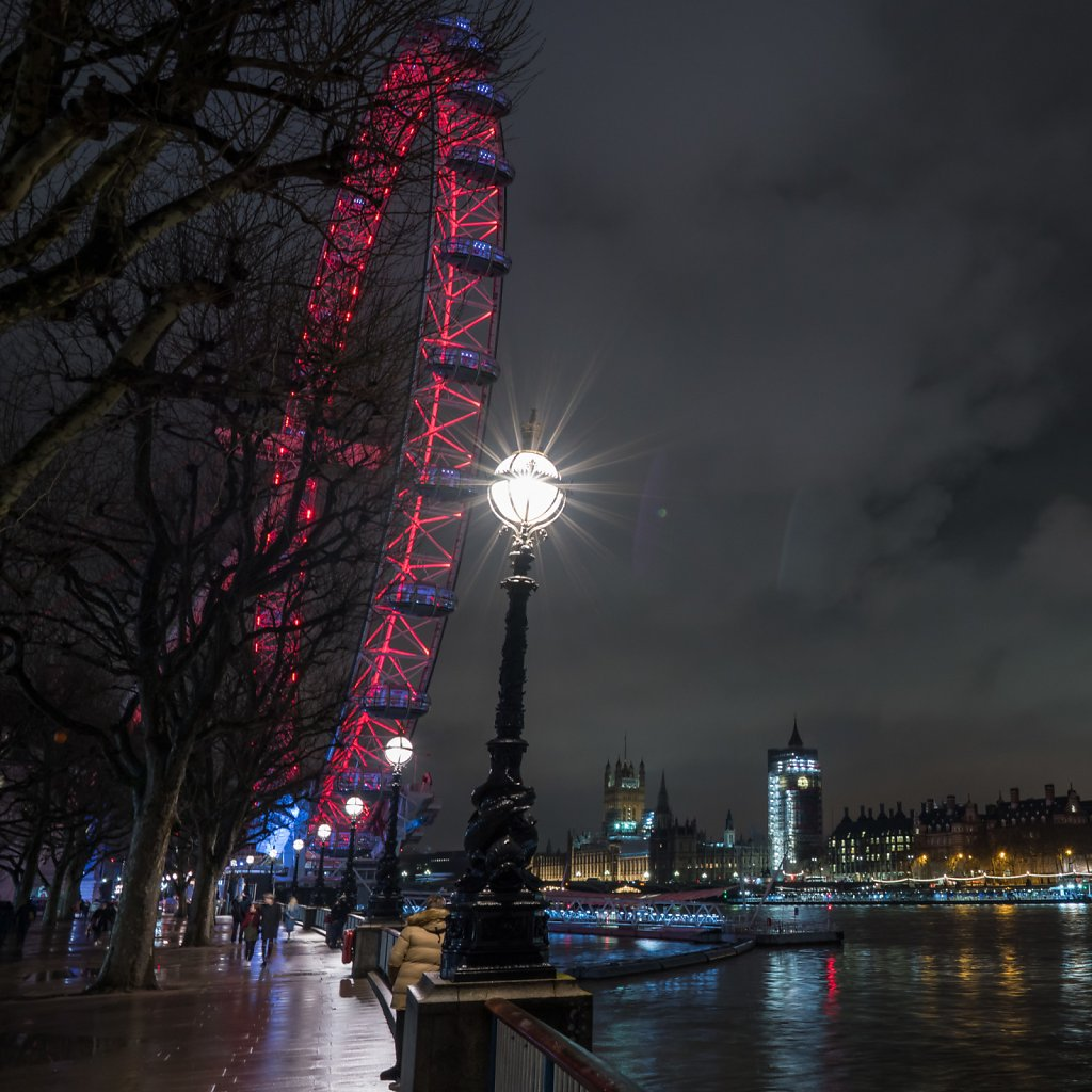 The Eye, the Thames, and Westminster