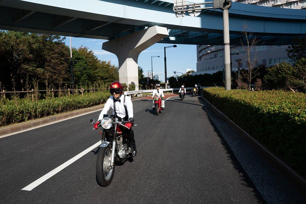 Distinguished Gentleman's Ride Tokyo 2018
